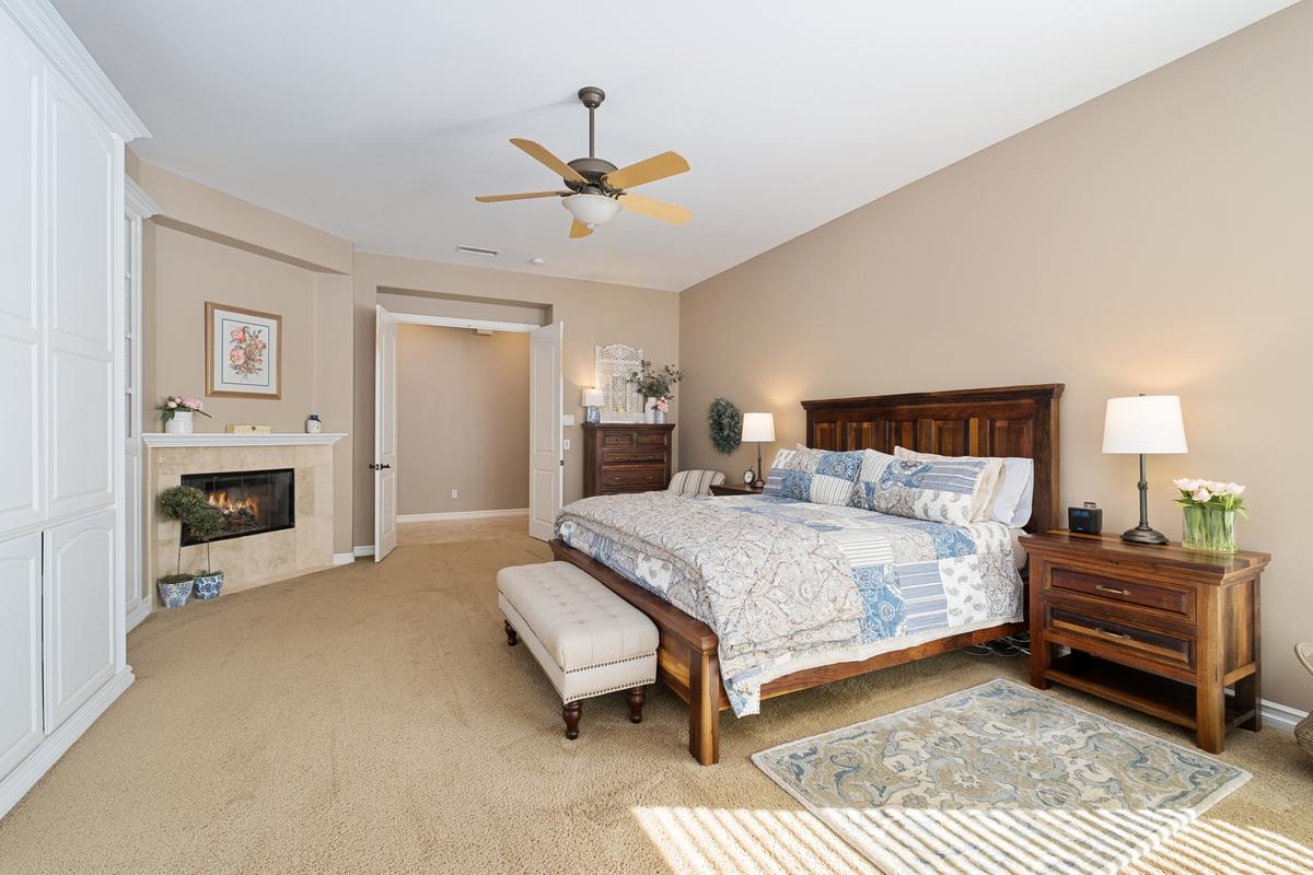 Master bedroom in 43250 Midnight Ct, Banning, CA 92220