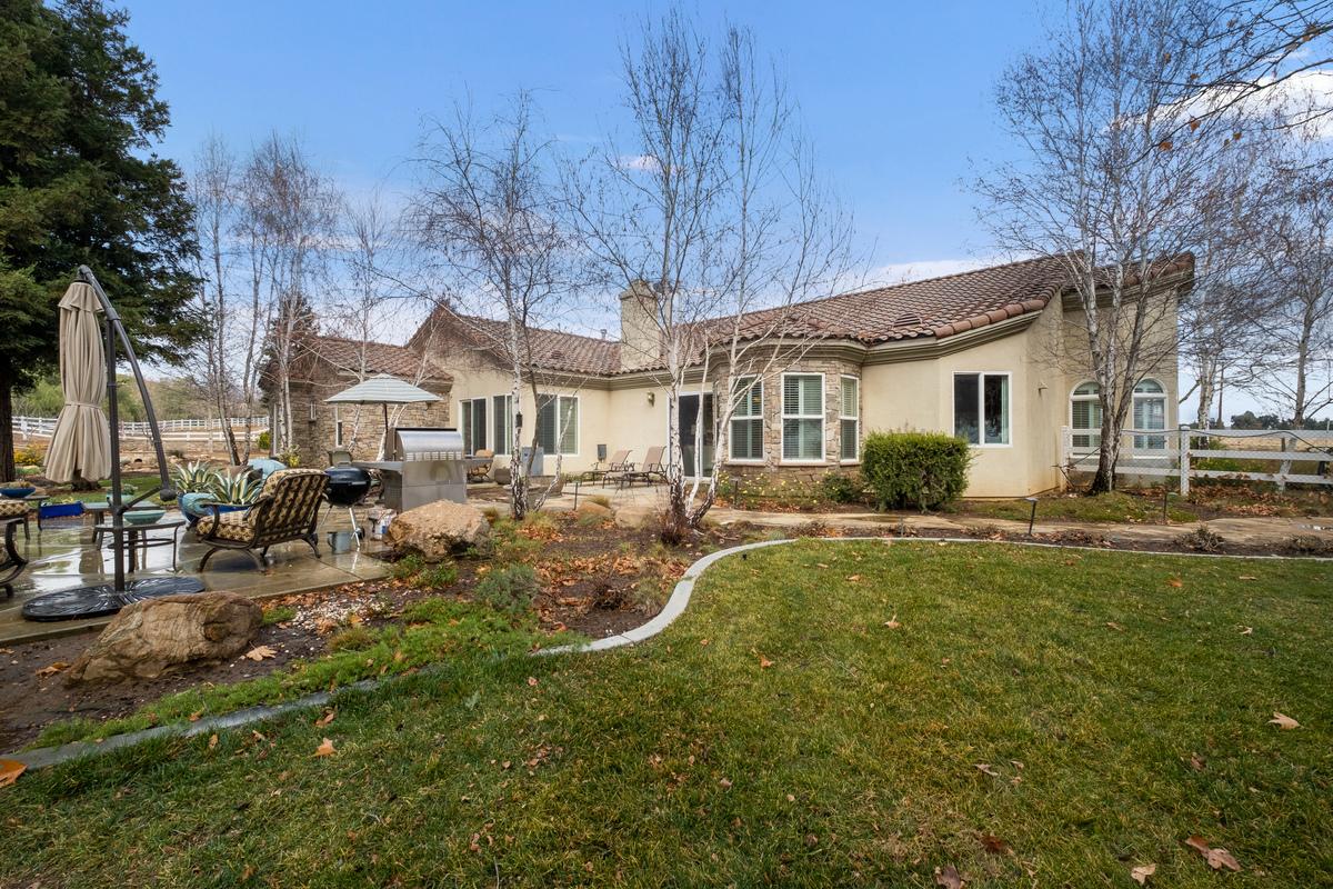 Backyard in 43250 Midnight Ct, Banning, CA 92220